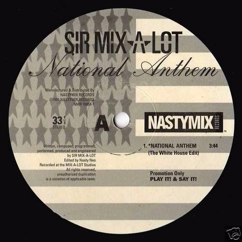 hip hop/ sir mix-a-lot - national anthem vinyl