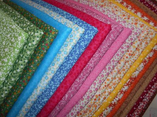 hiper kit tecido patchwork algodão retalhos  50cmx70cm h20f