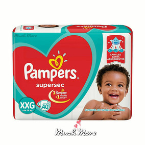 84d2777e6 Pampers Supersec Xxg X 40 Higiene Panales - Artículos para Bebés en Mercado  Libre Argentina