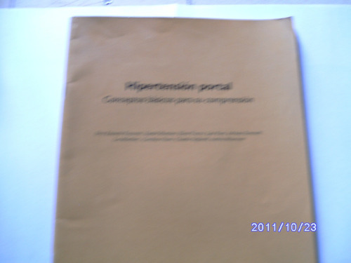 hipertension portal,conceptos para su comprension a 100 $