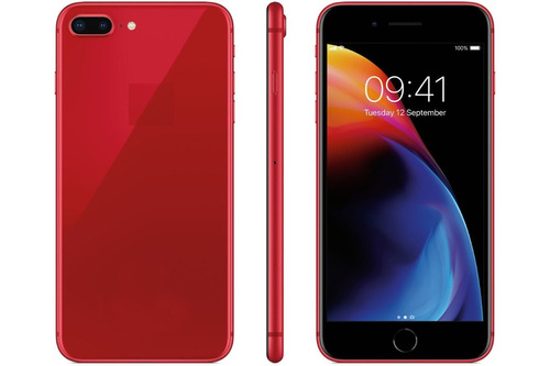 hiphone 8plus rojo android edición especial red product