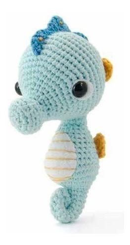 hipocampo amigurumi crochet - tienda online nariz de azúcar