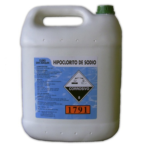 hipoclorito para desinfeccion de piscinas