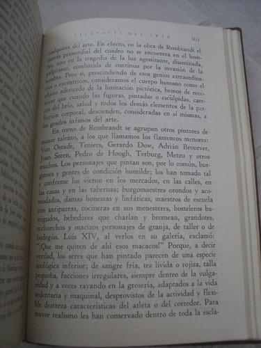 hipólito taine, filosofía del arte