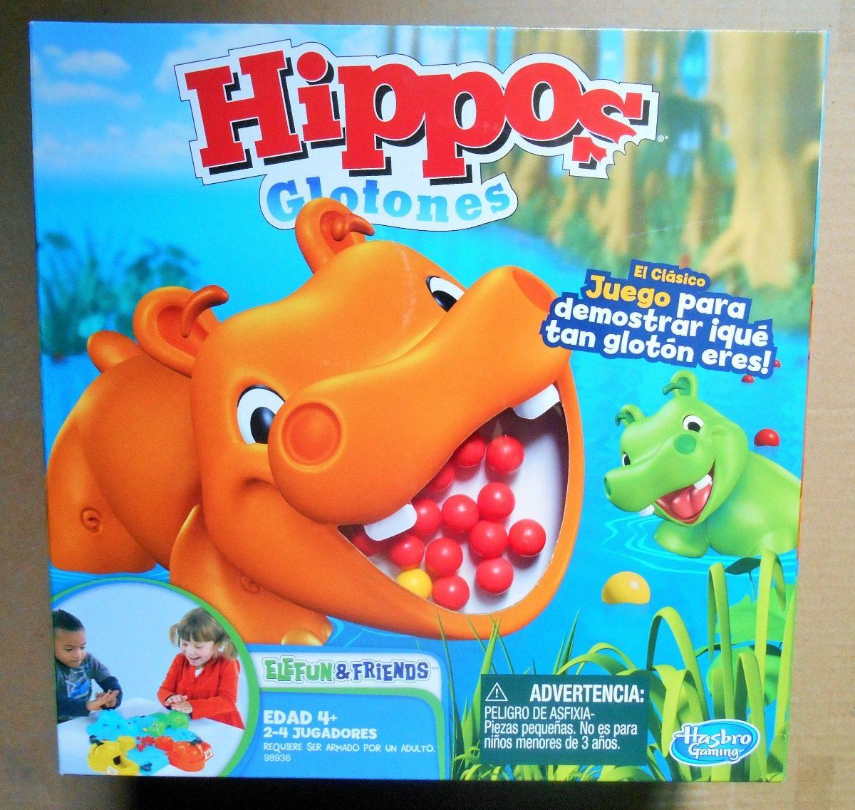 Hipos Glotones Juego De Mesa Hasbro 299 00 En Mercado Libre