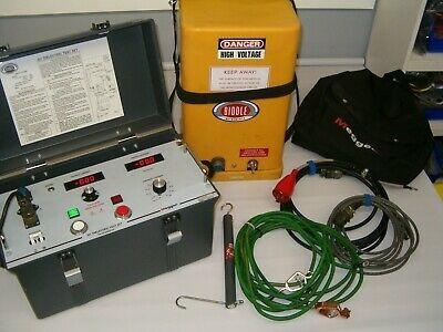 hipot de 70 kv y de 120 kv para prueba de cables