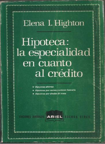 hipoteca:especialidad highton elena