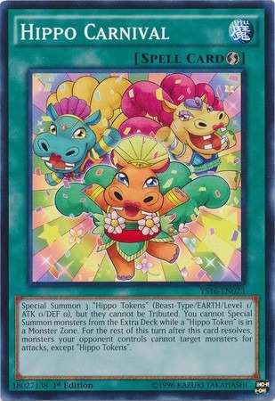 hippo carnival - ys16-en023 - common 1st edition