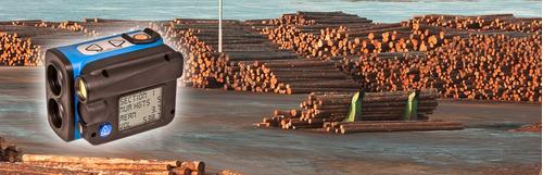 hipsómetro pilas  montones de madera haglof