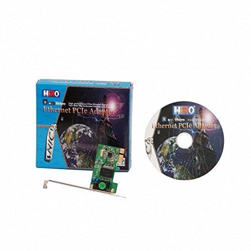 hiro h50218 10/100/1000 pci express pcie pcie e x1 tarjeta g