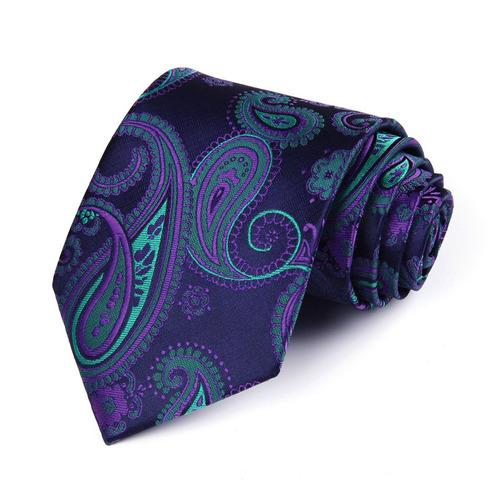 hisdern extra largo floral paislry tie handkerchief hombres
