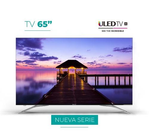hisense smart tv 65  4k uhd - h6518uh9i