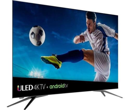 hisense smart tv led 55h9e plus 4k ultra hd, widescreen