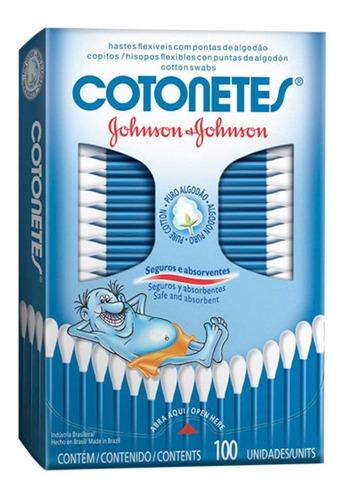 hisopos flexibles cotonetes johnson s baby x 100 unidades