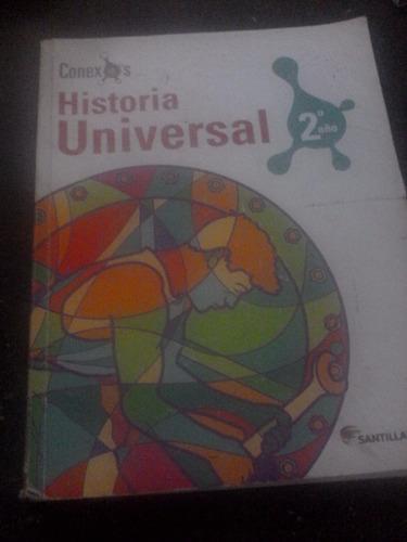 hist vezla / hist universal.. 2do año  usados c/u