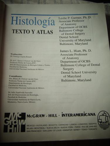 histologia texto y atlas -  mcgraw hill