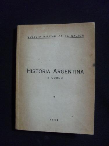 historia argentina ii en curso