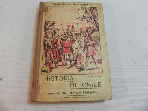 historia chile para enseñanza primaria f. valdes 1908