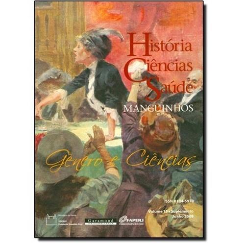 história, ciências, e saúde  vol.15
