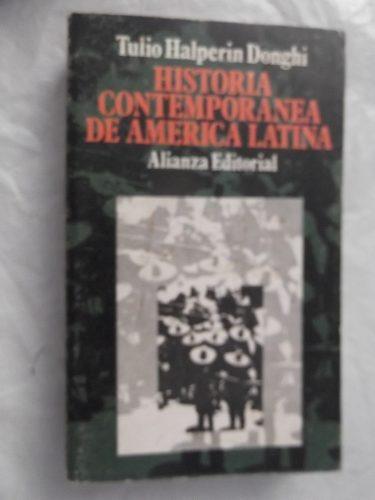 historia contemporanea de america latina halperin donghi