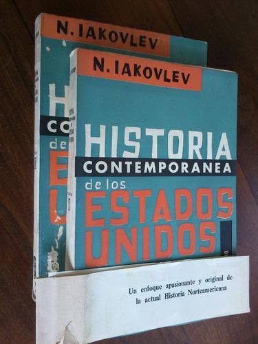 historia contemporanea de los estados unidos. n. iakovlev 2t