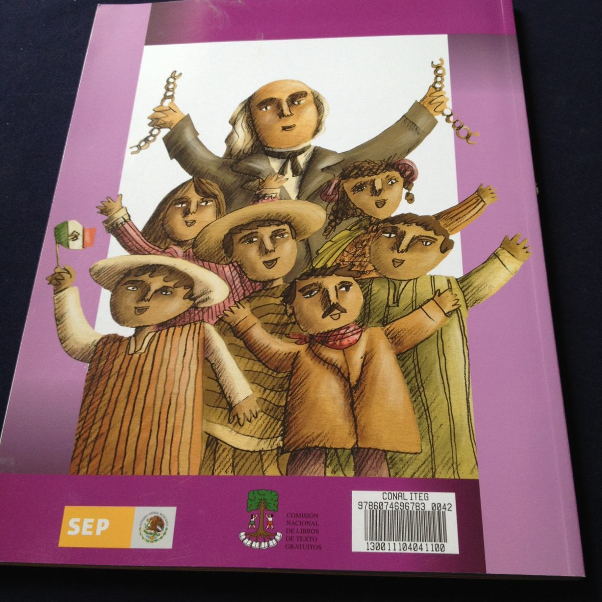 Historia Cuarto Grado Sep - $ 38.00 en Mercado Libre