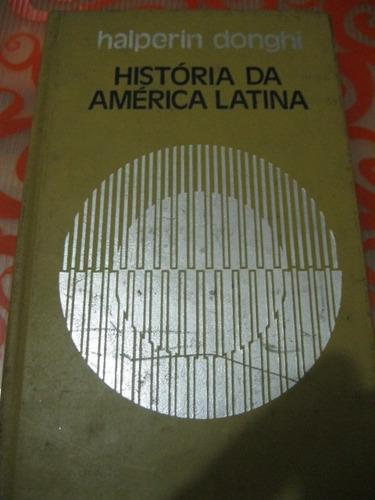 história da américa latina halperin donghi livro