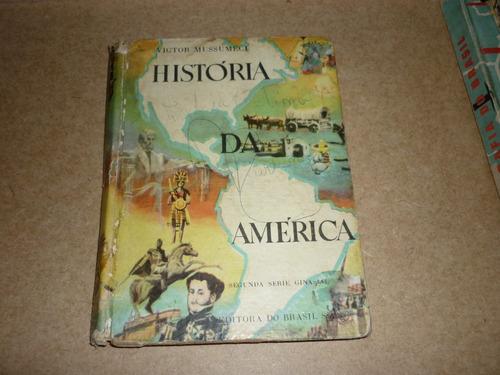 história da américa - victor mussumeci