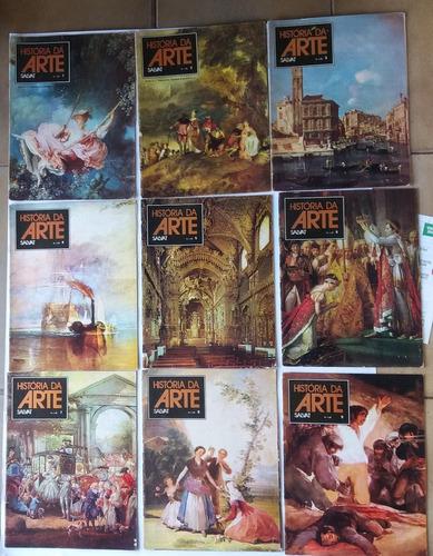 historia da arte pintura em óleo 1978 salvat com 15 revista