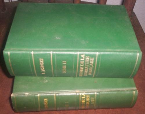 historia da literatura francesa 2 vol de 1947