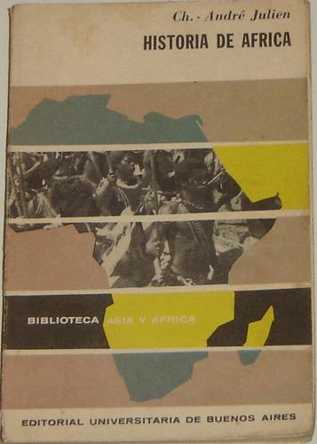 historia de africa ch.- andré julien eudeba