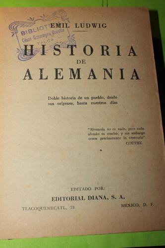 historia de alemania  emil ludwig