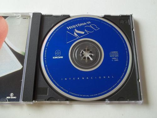 história de amor - cd da novela - internacional - raro!!!!