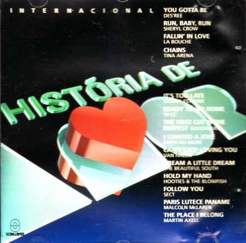 história de amor internacional-1995-cd original-raro