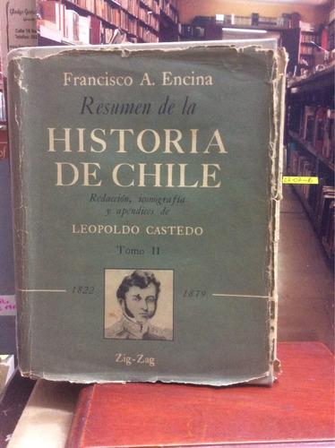 historia de chile - francisco a. encina y leopoldo castedo.