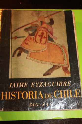 historia de chile   jaime eyzaguirre