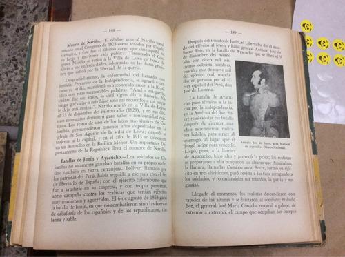 historia de colombia. henri y arrubla