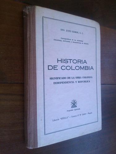 historia de colombia - hermano justo ramón