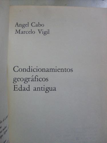 historia de españa. alfaguara i. angel cabo- marcelo vigil
