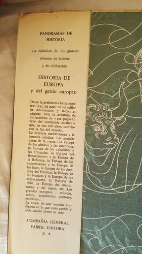 historia de europa y del genio europeo