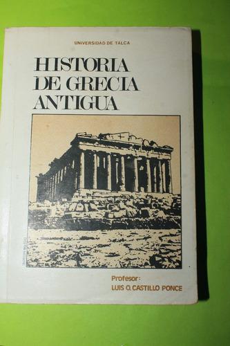 historia de grecia antigua  luis castillo ponce