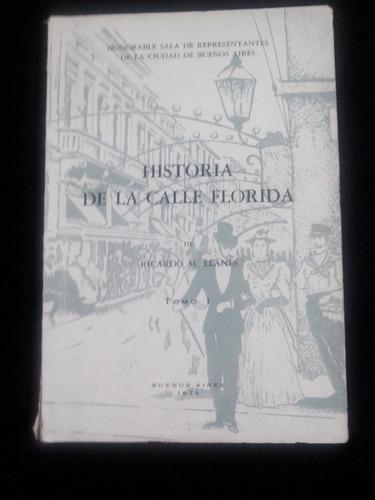 historia de la calle florida,  ricardo m. llanes