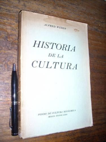 historia de la cultura - alfred weber - fce