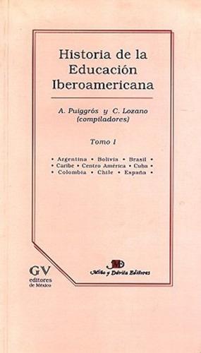 historia de la educación iberoamericana. / adriana puiggrós