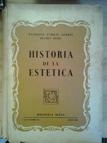 historia de la estética k everett gilbert h kuhn nueva