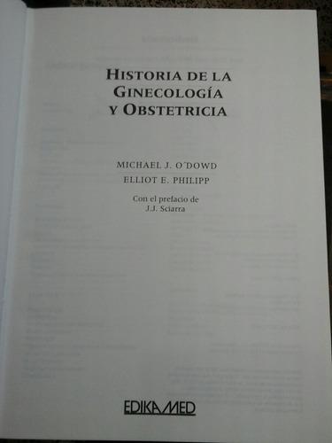 historia de la ginecologia y la obstetricia, elliot philipp.