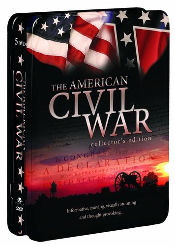 historia de la guerra civil norteamericana 5 dvd