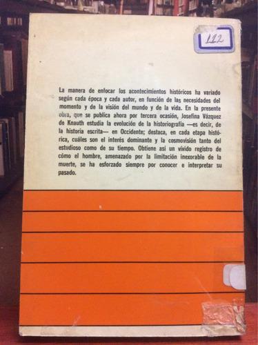 historia de la historiografía - josefina vásquez de knauth.
