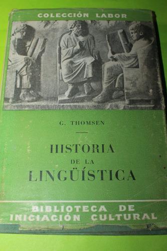 historia de la linguistica  g thomsen