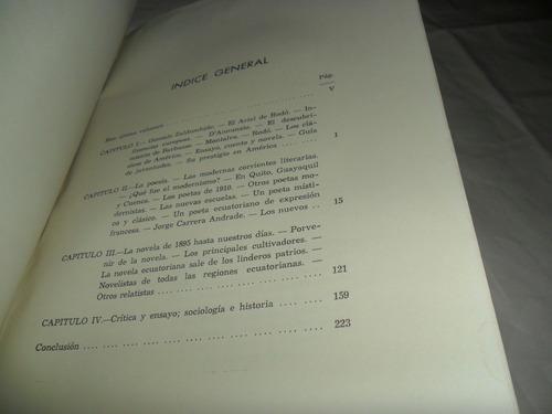 historia de la literatura ecuatoriana, isaac barrera, iv